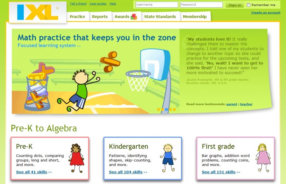 IXL Maths and English Practice - dinosauriens.info