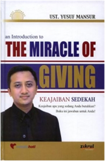 the miracle of giving - BUKU USTADZ YUSUF MANSUR