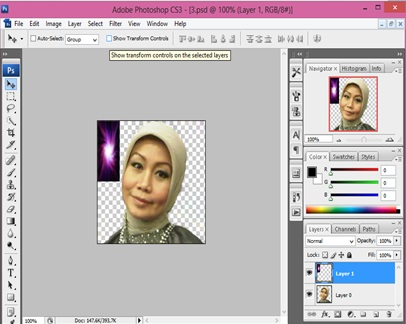 mengganti background photoshop3