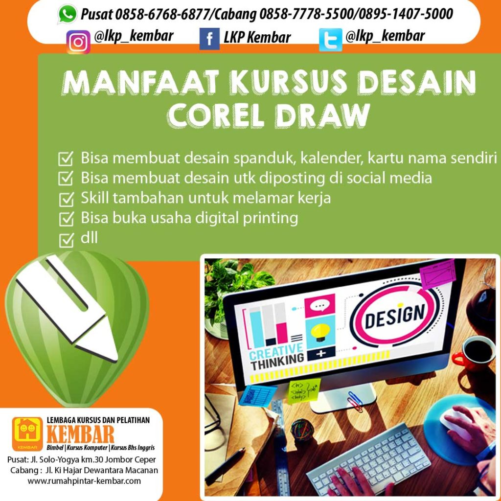 manfaat KURSUS desain corel draw DI KLATEN copy
